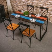 厂家定制批发 餐桌餐椅 快餐餐椅 实木餐桌