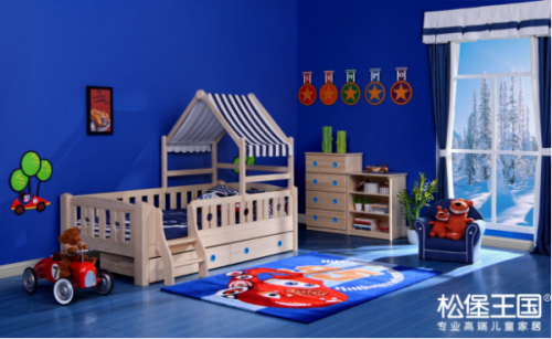"""颠覆儿童家具行业,""""松堡王国""""为中国制造正名"""