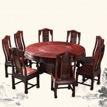 南美酸枝富贵圆桌