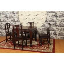 南美酸枝工兵四方桌实木雕刻明清古典宫廷仿古单卖