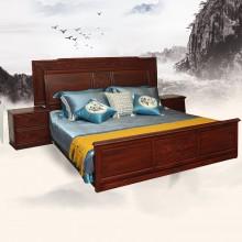 南美酸枝如意大床实木雕刻明清古典宫廷仿古