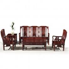 南美酸枝明式沙发实木雕刻明清古典宫廷仿古组合单卖