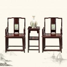 东非酸枝什锦椅实木雕刻明清古典宫廷仿古组合单卖