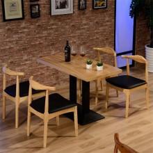 酒吧桌椅 简约现代甜品店 食堂餐桌椅 西餐厅桌椅 休闲椅咖啡厅 快餐桌椅