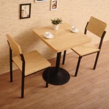 餐台 快餐桌椅 一桌四椅 食堂餐桌椅 小吃店 西餐厅桌椅