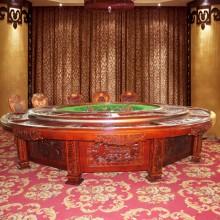 厂家直销高档电动圆桌 酒店餐桌 圆餐桌 电动餐桌