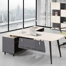 老板桌简约现代老板办公桌高档办公家具时尚经理桌椅组合大班台主管桌