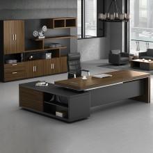 老板桌办公桌总裁桌简约现代经理桌桌椅组合主管桌大班台办公家具