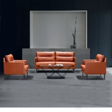 办公室沙发会客沙发接待沙发简约办公沙发AM002