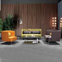 办公室沙发会客沙发接待沙发简约办公沙发AM006