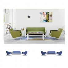 办公室沙发会客沙发接待沙发简约办公沙发AM0013