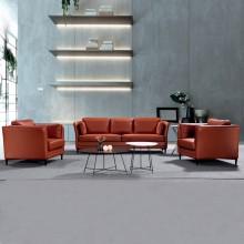 办公室沙发会客沙发接待沙发简约办公沙发AM0015