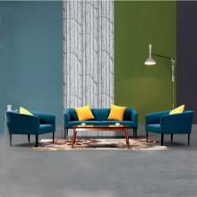 办公室沙发会客沙发接待沙发简约办公沙发AM0016