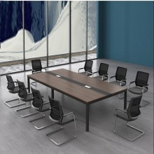 会议桌 长桌 小型接待洽谈培训桌 8人10人会议桌