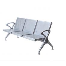 休息椅加输液杆排椅候机椅卫生院用椅加厚排椅连排座椅等候椅