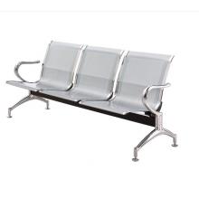 等候椅机场椅医院候诊椅三人位输液椅银行连椅公共座椅冷轧钢非不锈钢车站等候椅