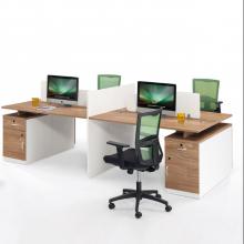 简约现代办公桌四人位,两人位员工办公桌
