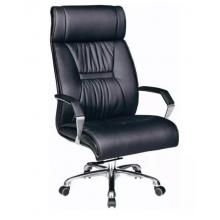 老板椅真皮办公椅子转椅电脑椅家用总裁大班椅会议椅职员转椅电竞座椅 黑色西皮
